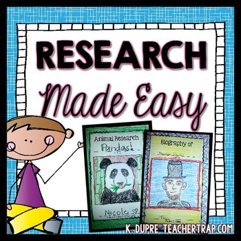 Research Made Easy | Active Learning | Pinterest | Easy, Teacher and ...