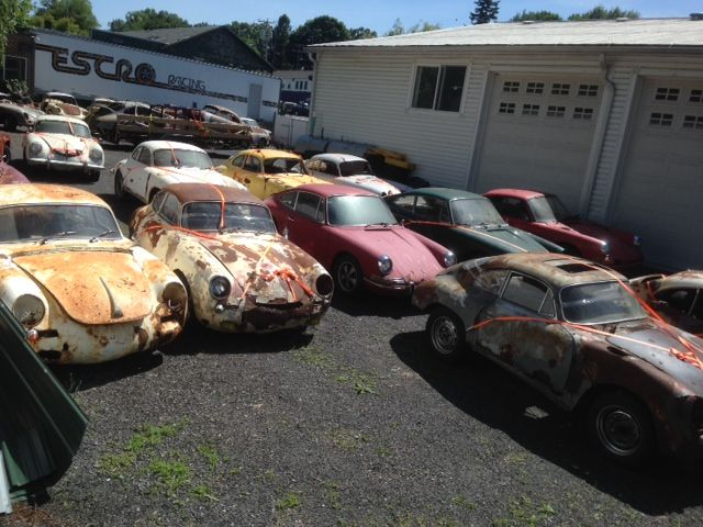 The photo of this Porsche 356 graveyard has been floating around online for about a year now. I did a little research to see if I could figure out where it was taken and by whom,... more»