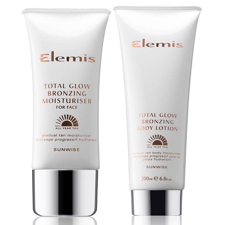 Elemis Total Glow Bronzing Moisturiser and Total Glow Bronzing Body Lotion