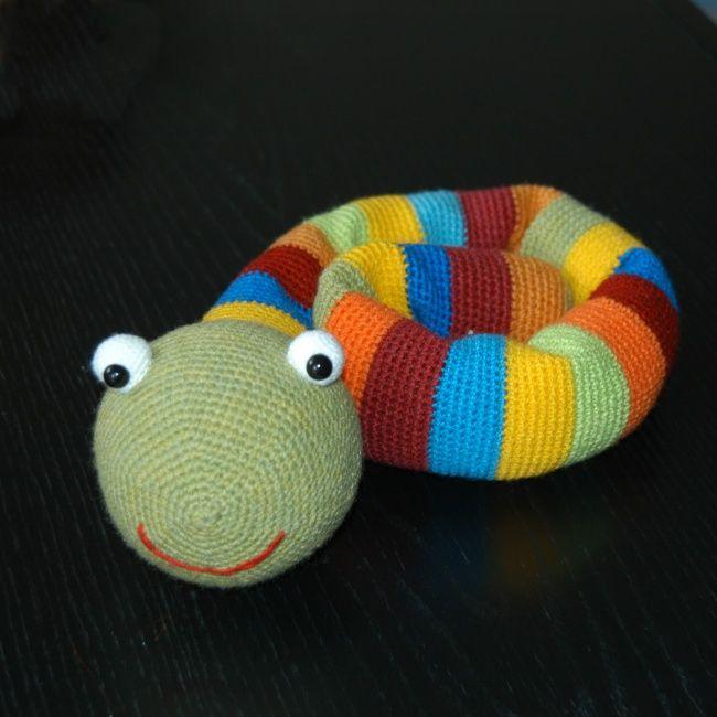 Amigurumi Snake Crochet Pattern Printable #ad #amigurumi #amigurumidoll  #amigurumipattern #…   Crochet patterns amigurumi, Blanket knitting patterns,  Crochet crafts   650x650