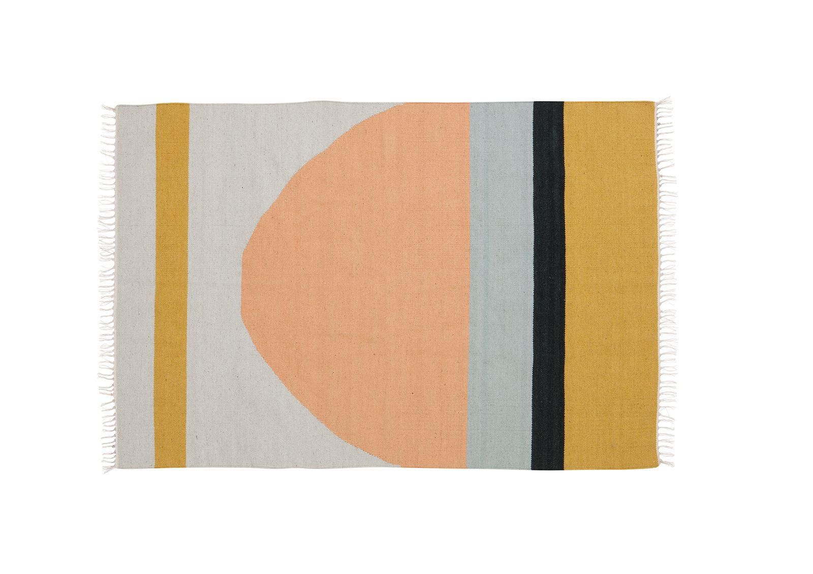 Ferm Living - Kelim rug - Semicircle large FER9145