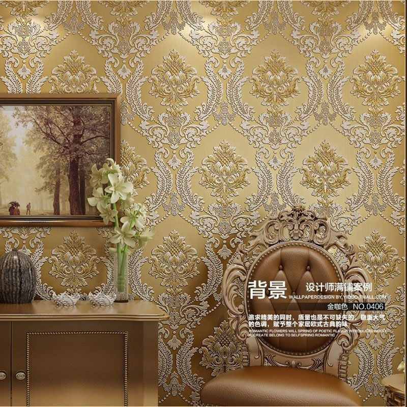 Find more information about 2017 luxury euro hotel wall for Cheap living room wallpaper