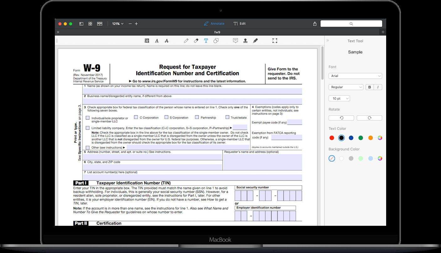 28 Irs W9 Fillable form in 2020 (With images) Fillable