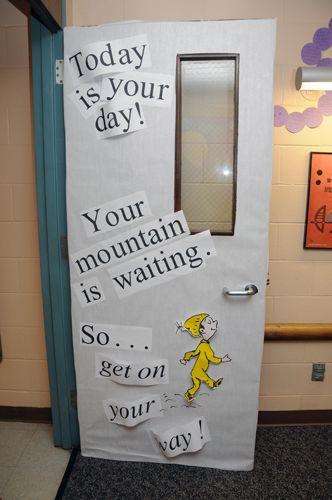 Dr Seuss Teacher Doors Google Search In 2020 Teacher Appreciation Doors Dr Seuss Classroom Teacher Doors