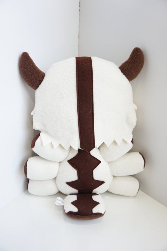 Appa Plush Inspired by Avatar The Last Airbender Flying