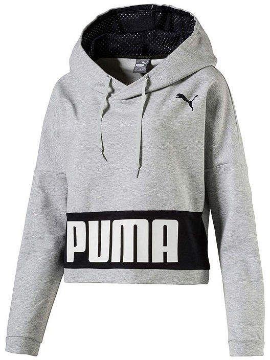 ff2468609ea Puma Urban Sports Hoody Tr Long Sleeve Knit Logo Hoodie