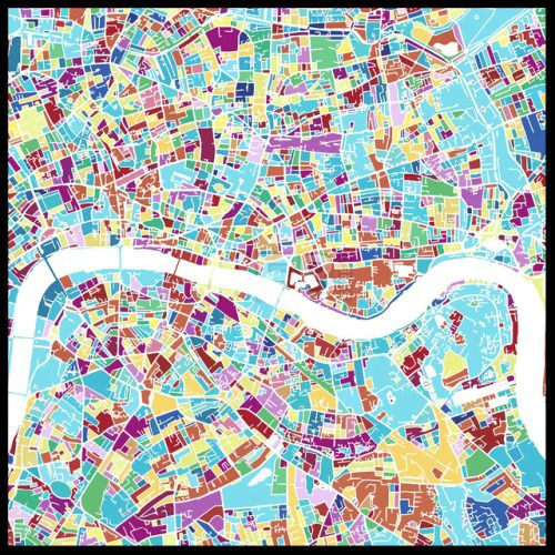 London Colorful Vector Map #Backgrounds #GraphicRessources #Travel - fresh world map with all countries vector