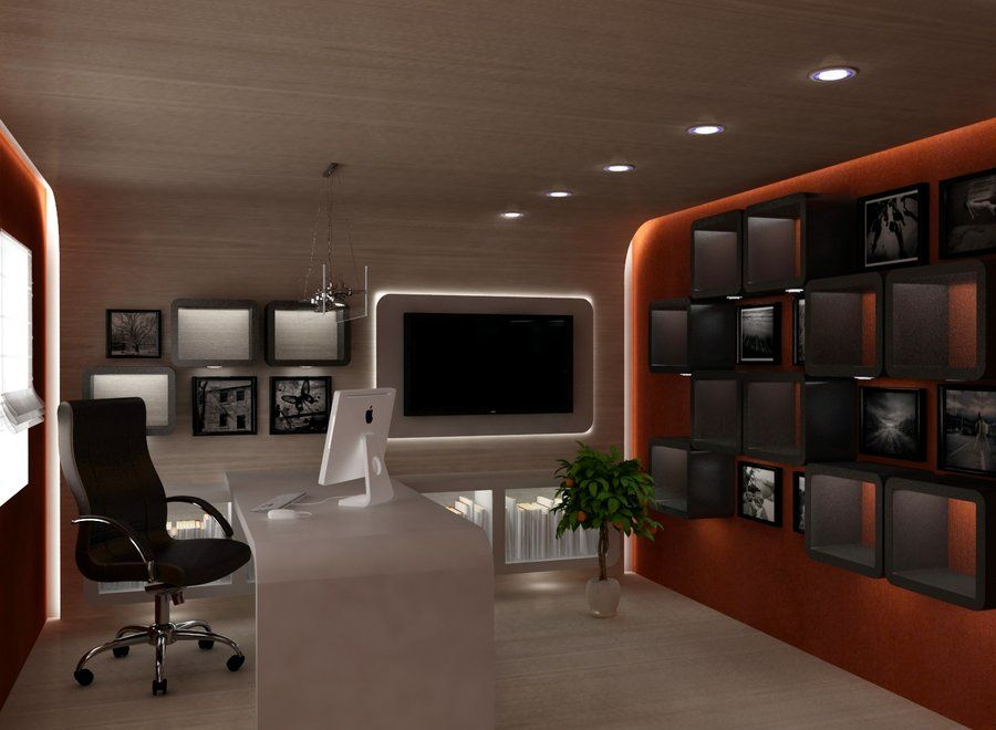 Cool Home Office Ideas Modern Home Office Home Office Design