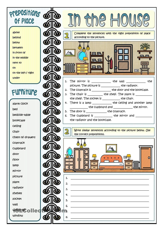 Resultado de imagen de student housing vocabulary list | ESL ...