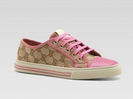 Gucci California Low Lace-up Sneaker  cute!  too bad i don't wear leather