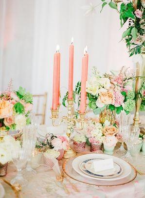 Shabby Chic Wedding Inspiration | Connie Dai Photography