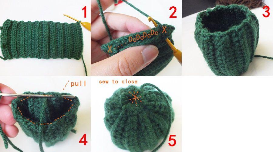 Amigurumi Cactus Crochet Pattern : Amigurumi ahmaymet: free pattern : diy little cactus 2 crochet