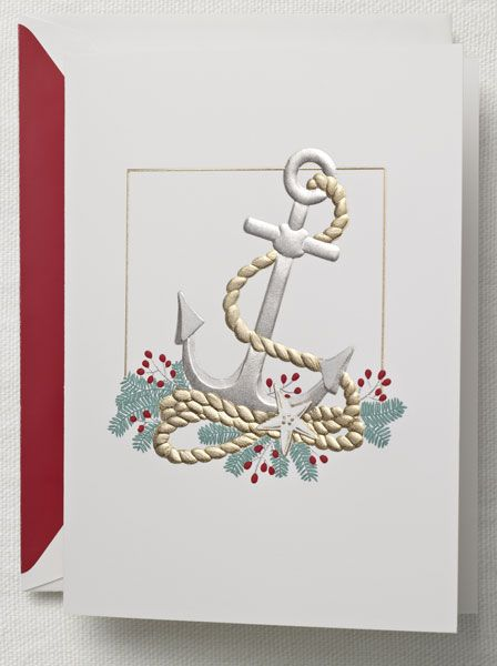 Engraved holiday sailing greeting card from crane co paper engraved holiday sailing greeting card from crane m4hsunfo