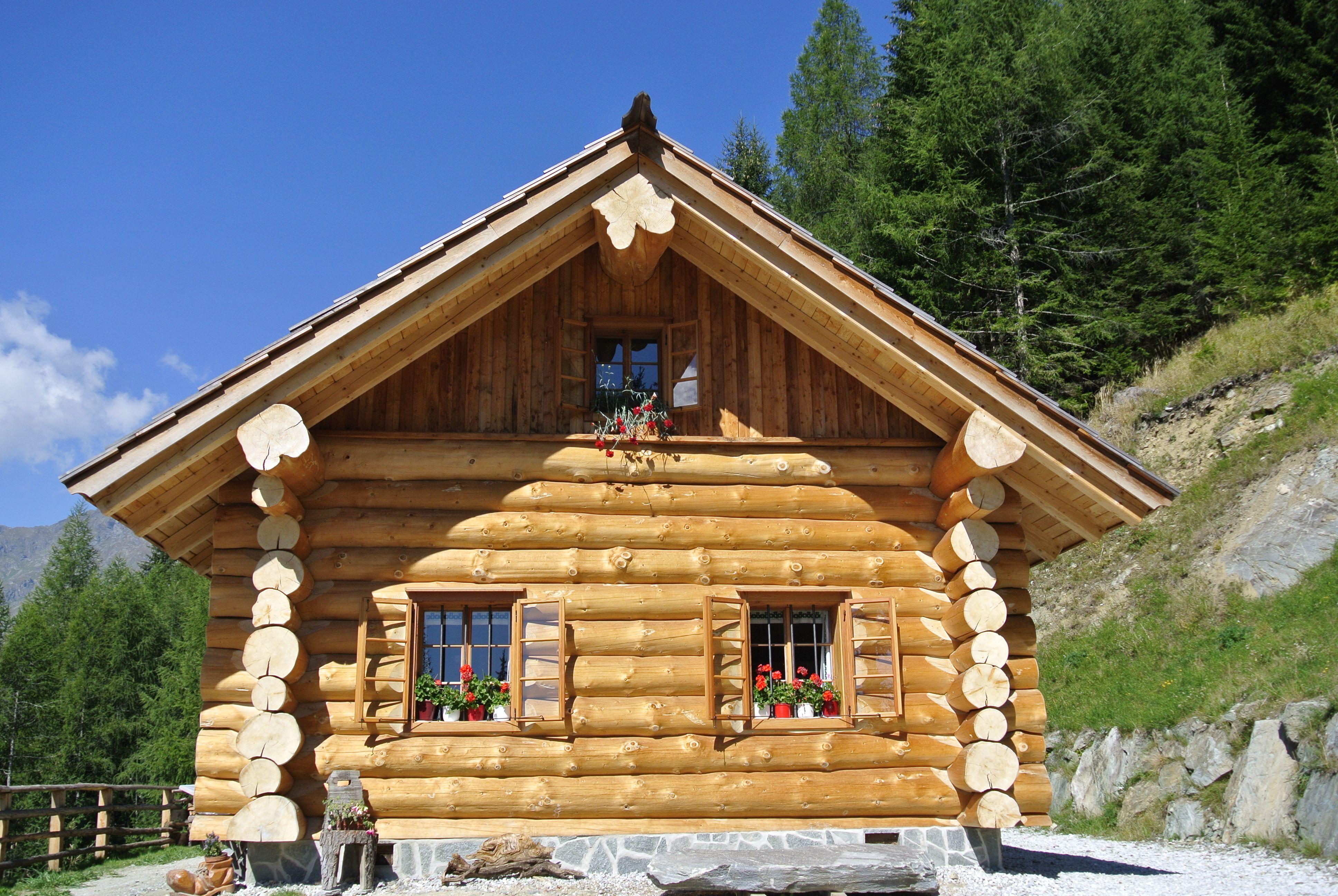 """""""Reastn Ofen"""" Haus, Blockhaus bauen, Kanadisches blockhaus"""