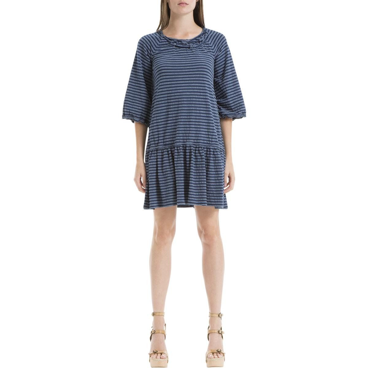 Max Studio Womens Melina Dropped Waist Striped Casual Dress Navy Xl Check Out The Image By Visiting The Link Th Striped Casual Dresses Casual Dress Casual [ 1200 x 1200 Pixel ]