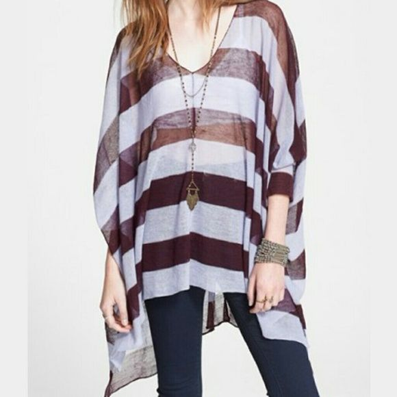 Free People Life Savor Wine top New with tags, never worn, beautiful top for all seasons Free People Tops