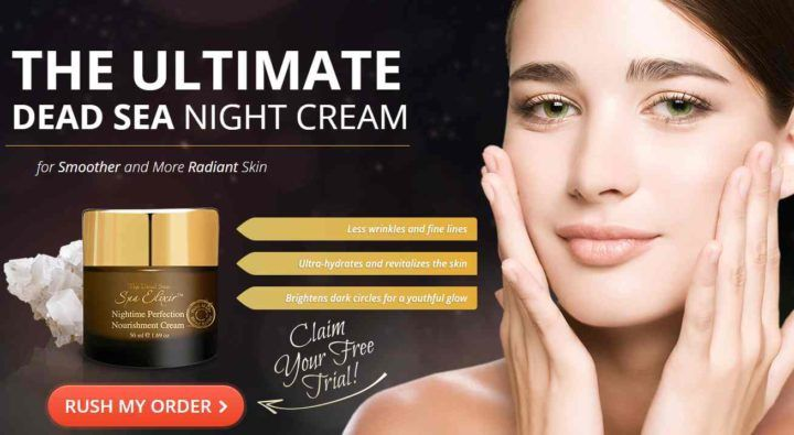 Spa Elixir Dead Sea Nightime Perfection Cream review on HealthMagReviews