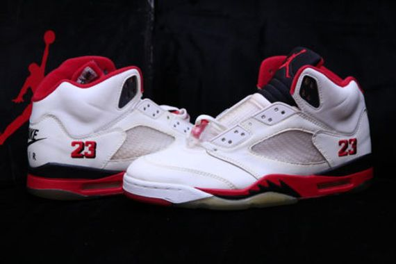 nike air jordan retro 5 fire red 2013 427