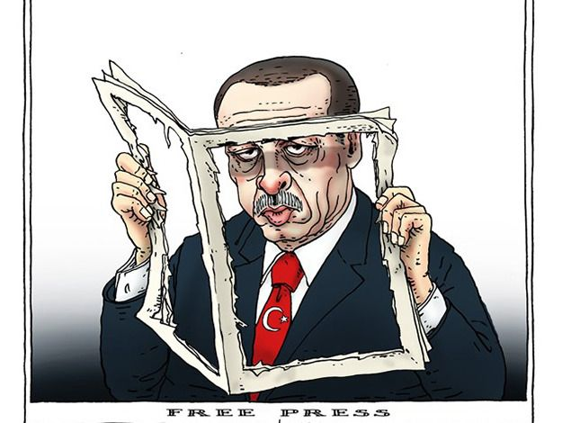 Image result for turkey politics cartoon pic