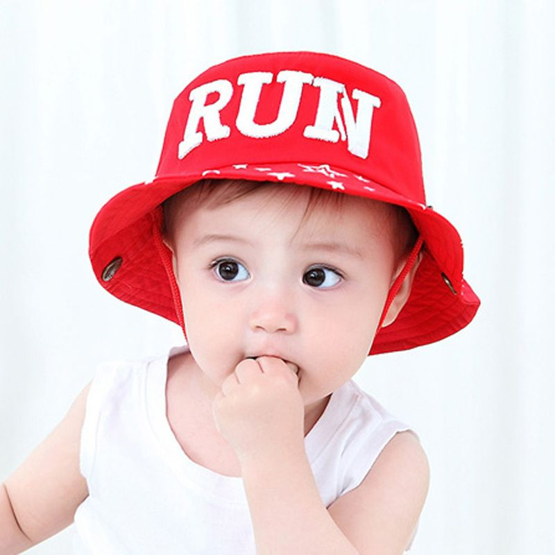 e5cba72cd6d cap baby 4-24month red black cotton baby girls cap for baby summer newborn  baby