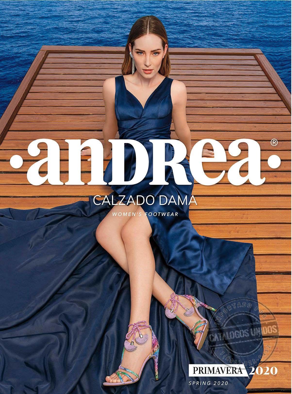 Andrea Dama 2020 Catalogos Andrea Zapatos Andrea Calzas