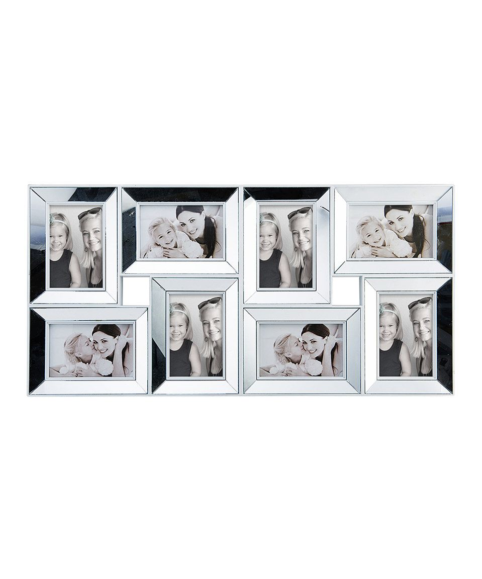 Love this White Mirror Eight-Photo Collage Frame by Lifetime Brands ...