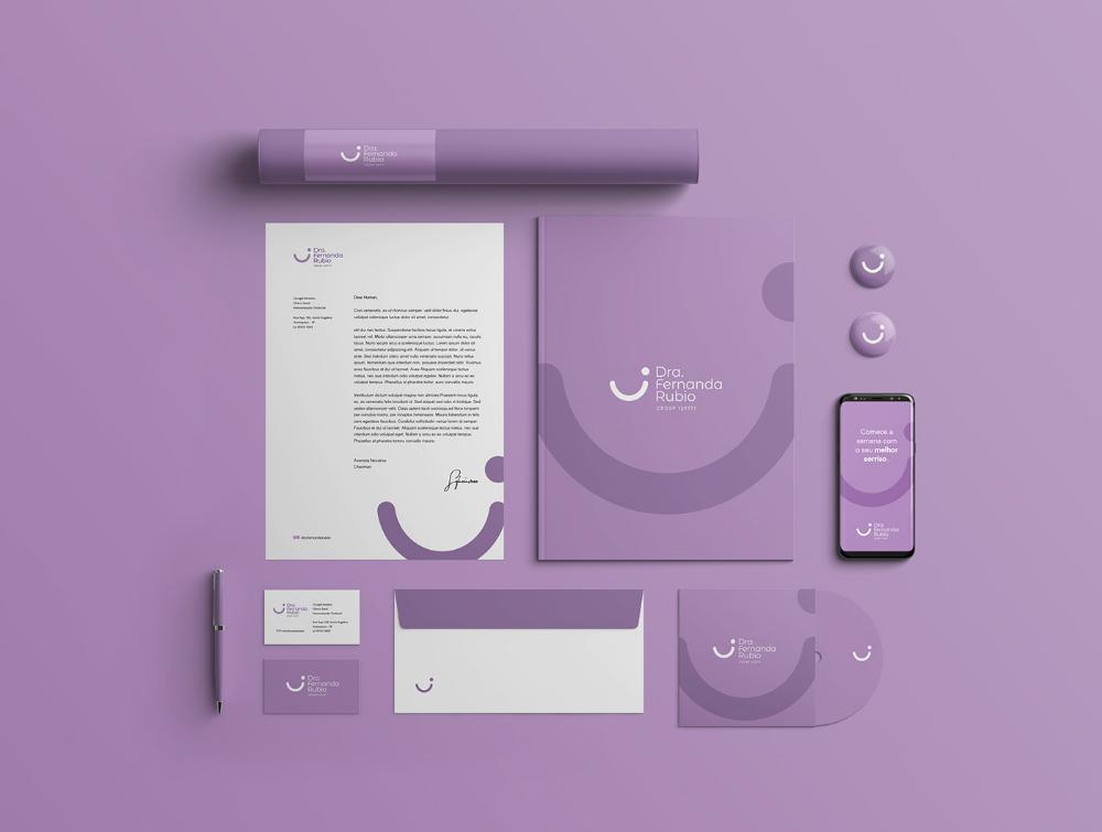 Dra. Fernanda Rubio Branding on Behance (With images)