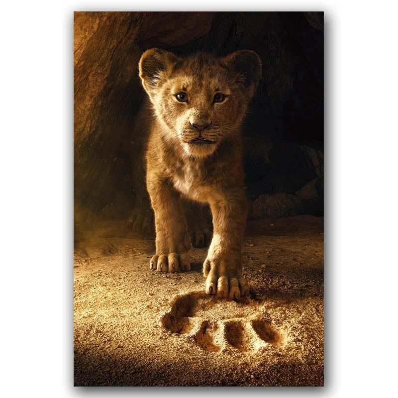 Art Print Poster Canvas The Lion King