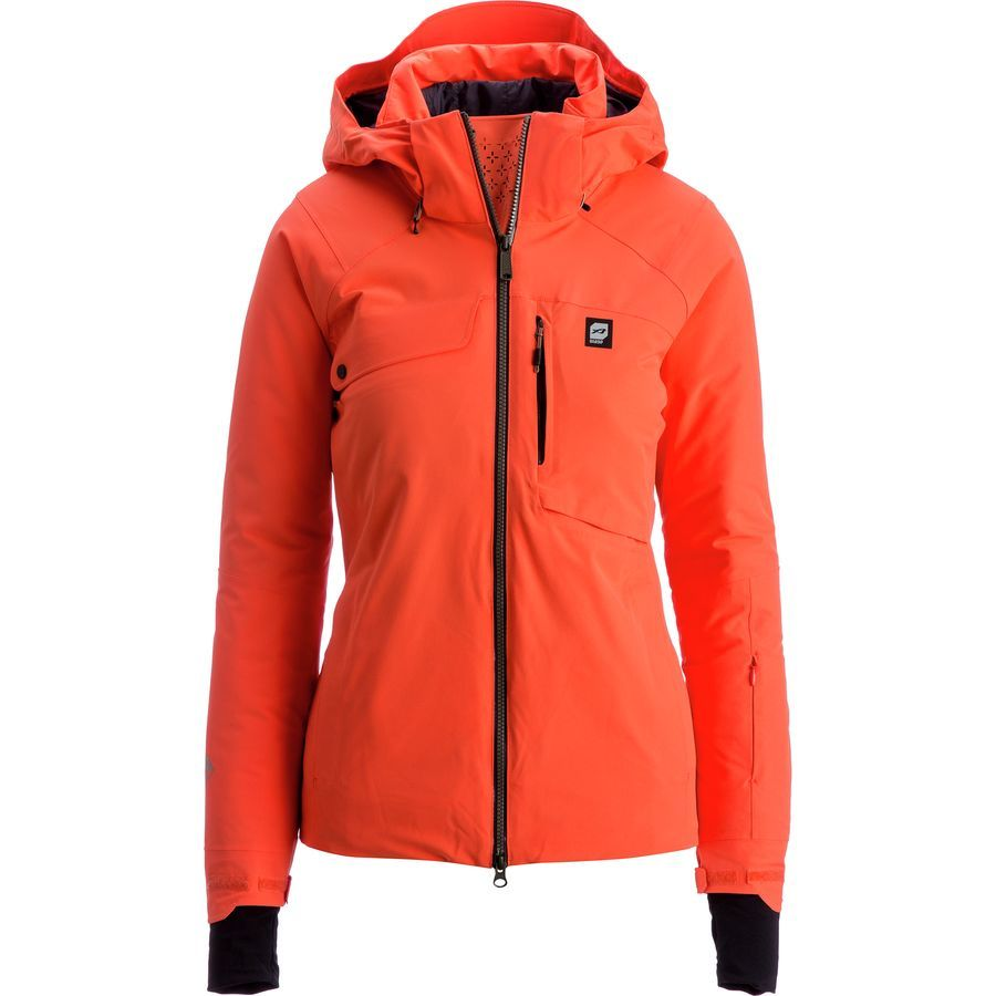 Orage Grace Insulated Jacket Women S Guava Jackets For Women Insulated Jacket Women Ski Jacket Women