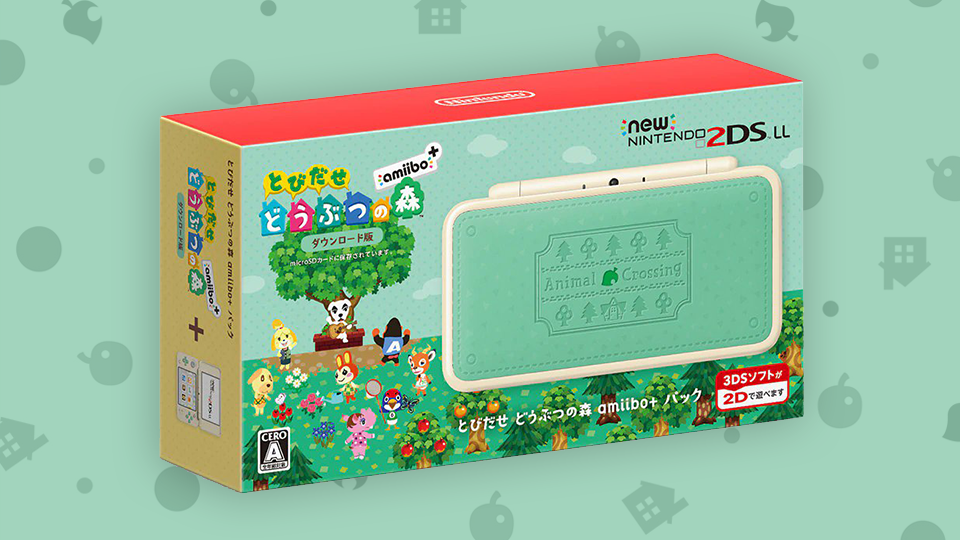 New Images Of New Nintendo 2ds Xl Animal Crossing Edition Surface With Images Animal Crossing Nintendo 2ds New Image