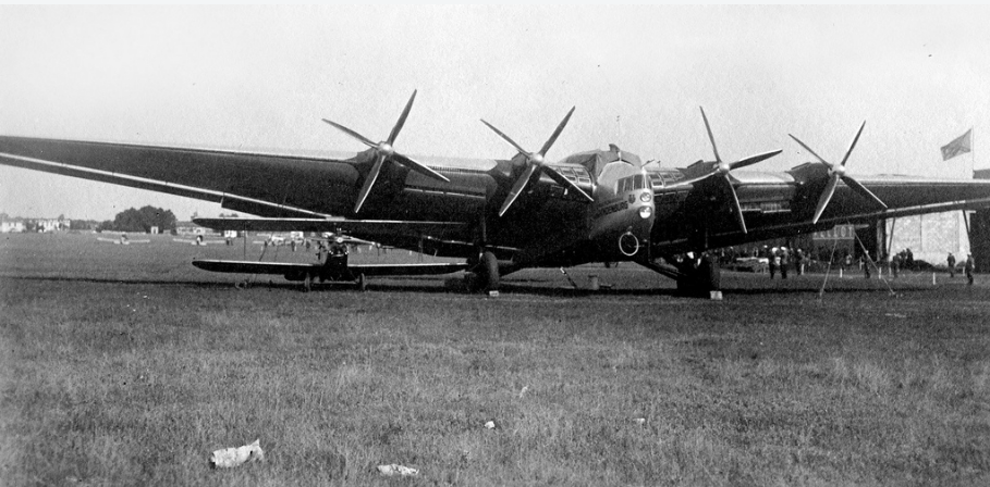 Junkers G38 and DAR-1 trainer
