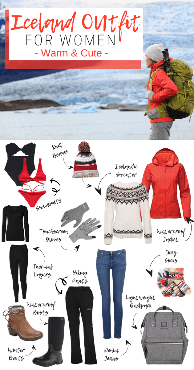 Iceland Packing List For Winter Women S Edition Seeking Neverland Iceland Packing Iceland Packing List Hiking Outfit