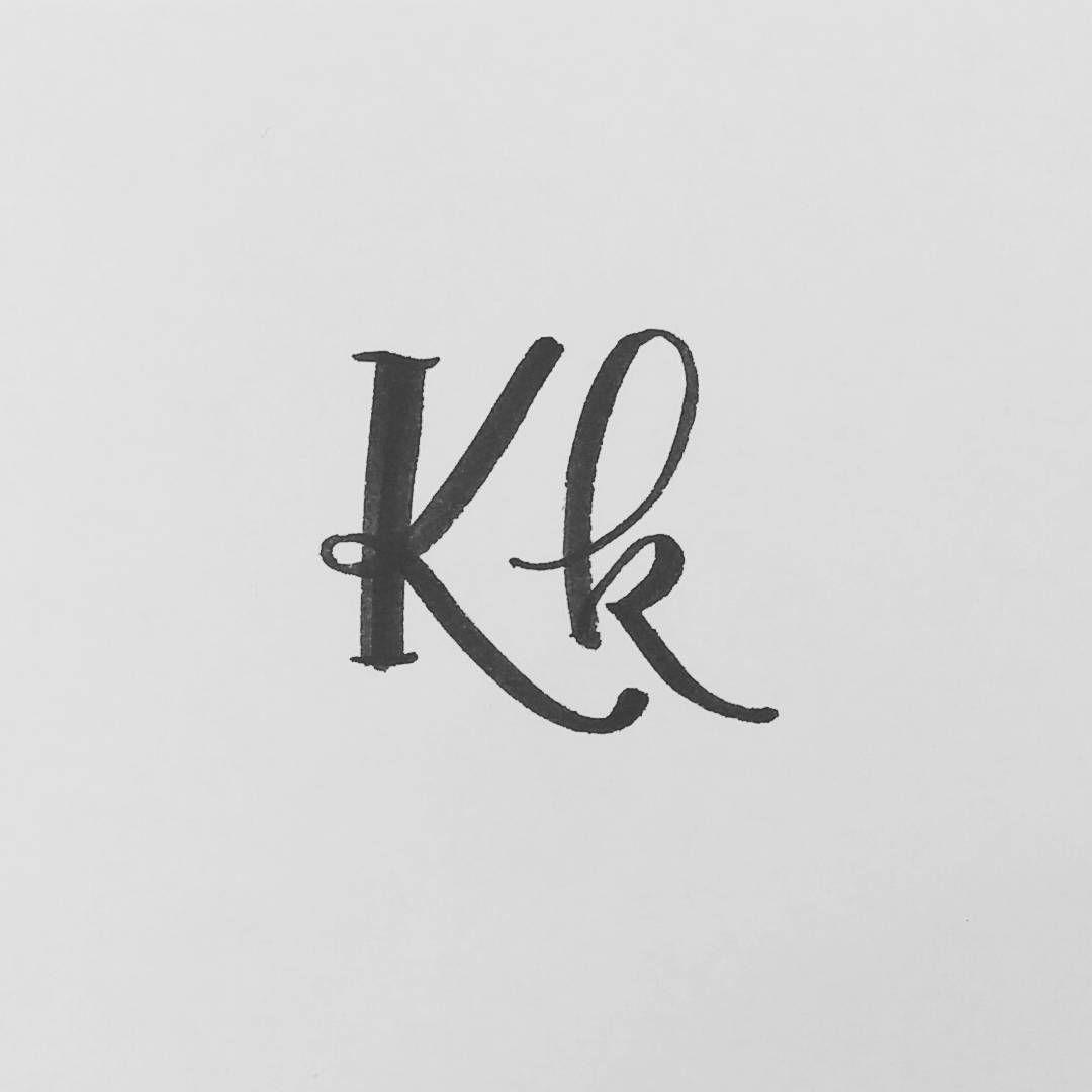 Letter K Letterarchive Brushlettering Brushscript Brushcalligraphy Calligraphy Calligraphyart