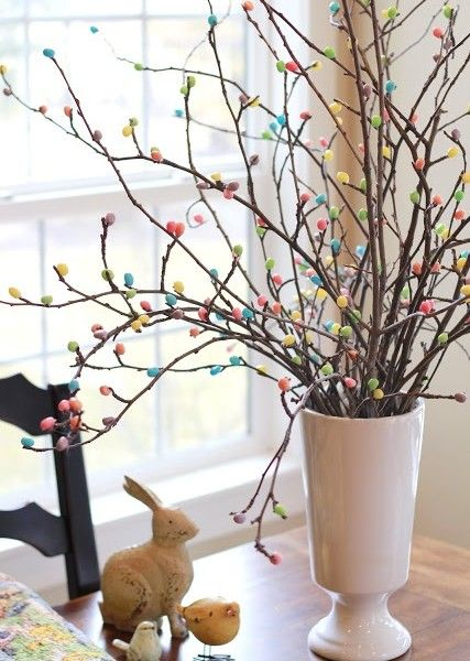 Ostern baum ostern dekoration osterideen pinterest for Ostern dekoration