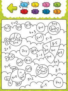 rekenkleurplaat groep 3 zoeken groep 3 4