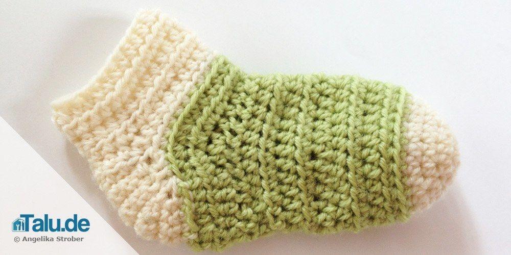 Babysocken Selbst Häkeln Anleitung Babies Baby Born And Crochet