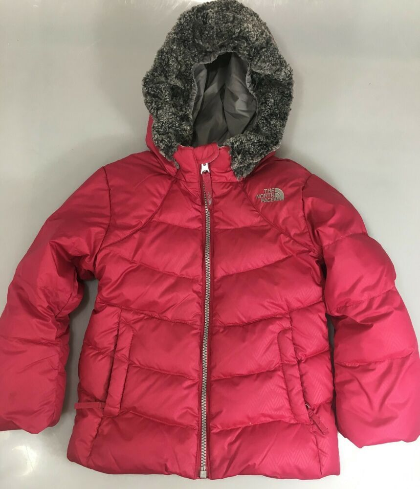 The North Face Toddler 4t Pink Raspberry Hooded 550 Down Parka Puffer Jacket Thenorthface Jacket Everyday Down Parka Parka The North Face [ 1000 x 859 Pixel ]