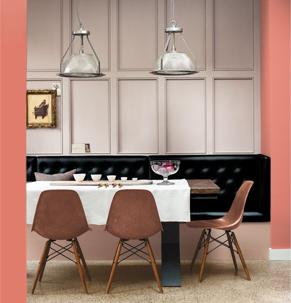 Dining Chair Trends For 2016: 2016 Dulux Colour Palettes, At Home & Abroad