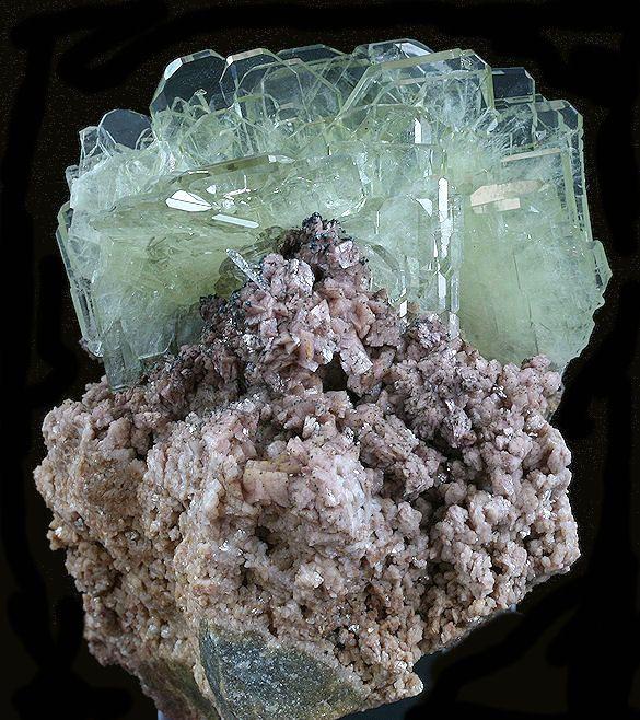 Barite Crystals on Matrix