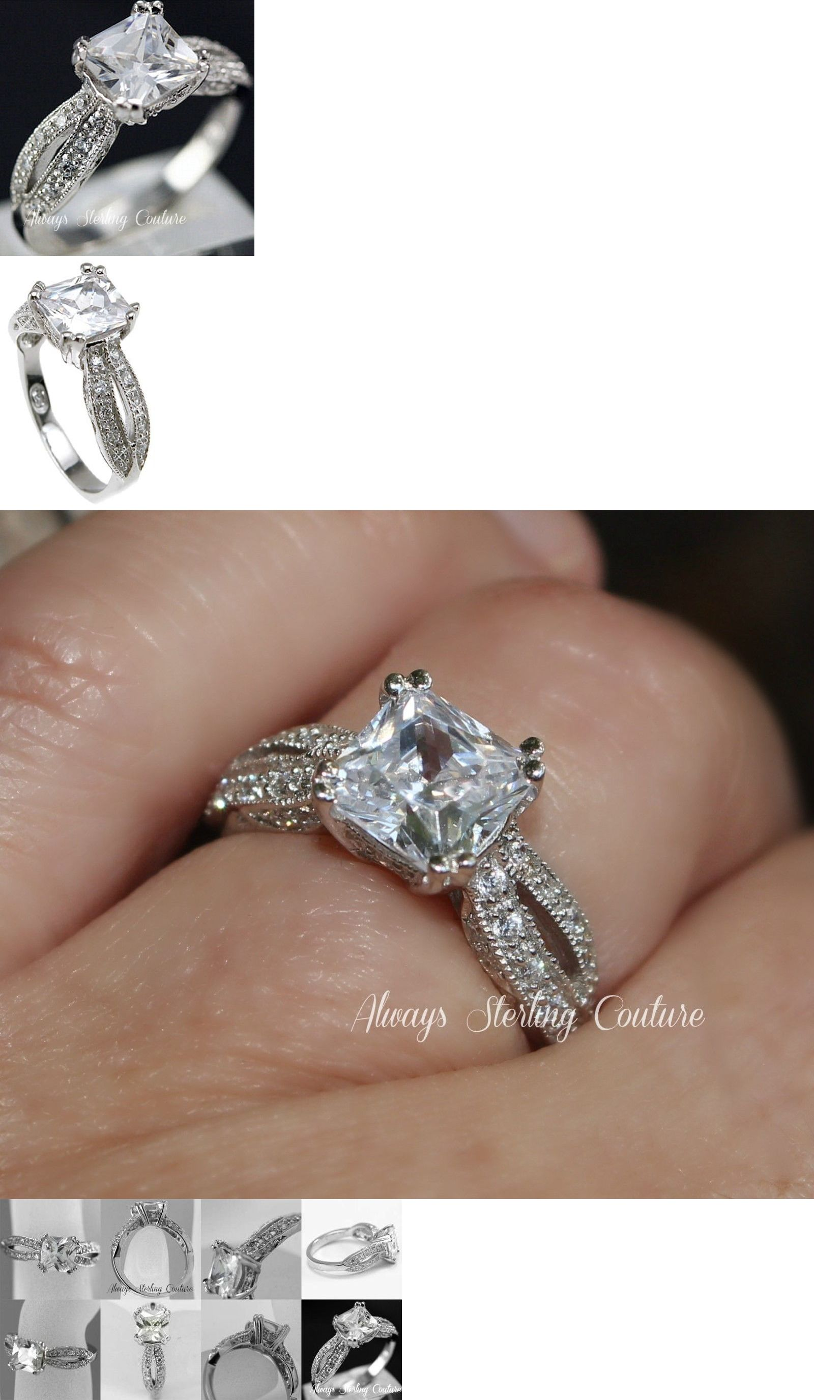 Other engagement rings platinum sterling silver