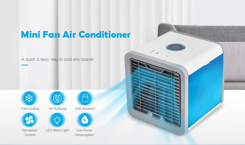 Arctic 3 In 1 Mini Air Conditioner Review Usb Air Conditioner For