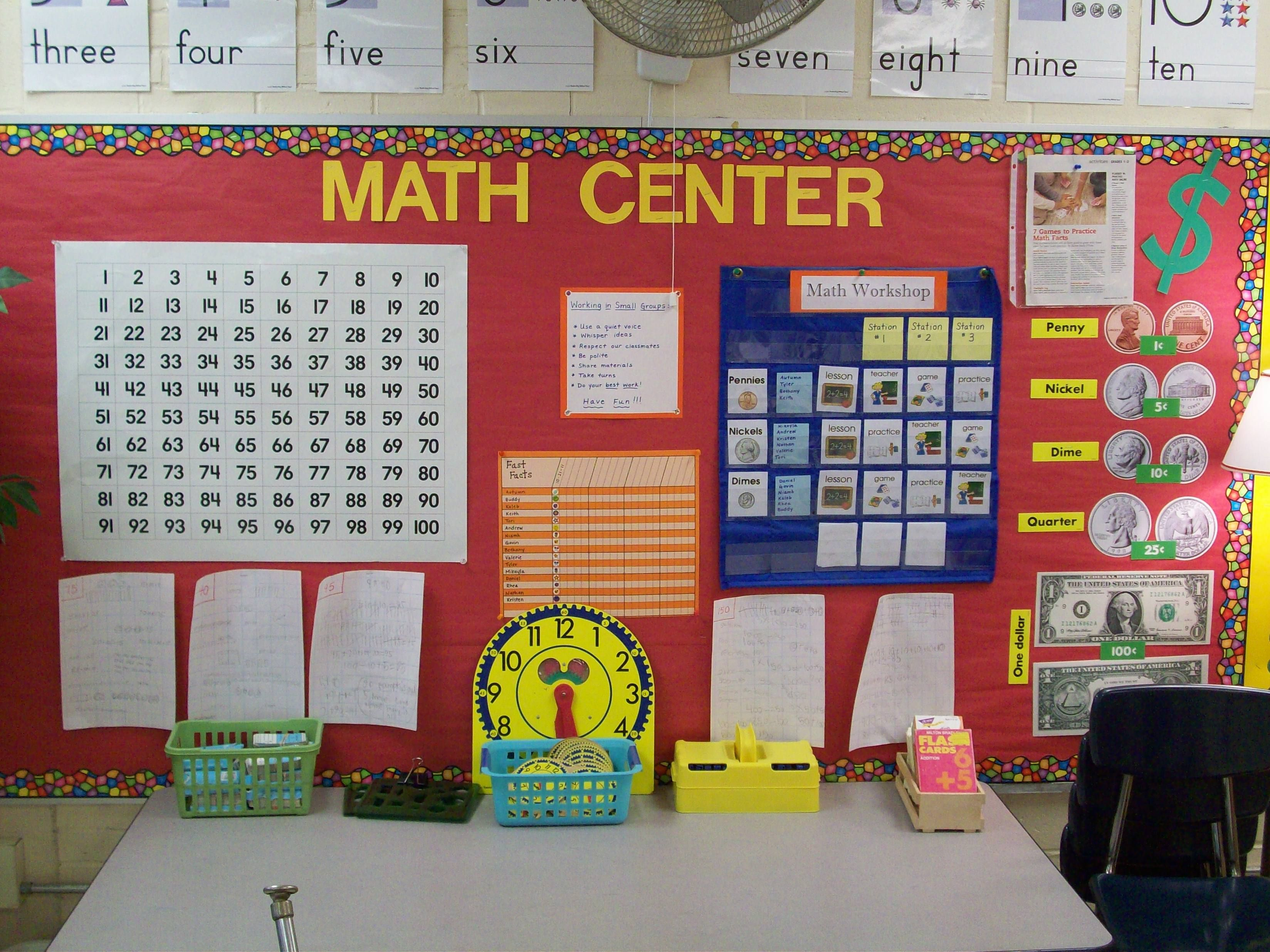 Elementary Math Centers