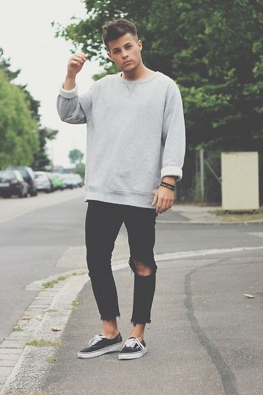 Vans Shoes, Zara Jeans, H\u0026M Sweater
