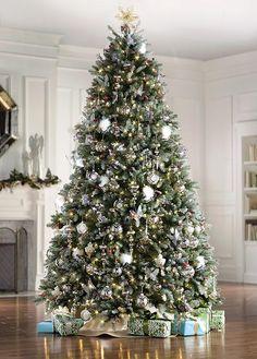 Dunhill Fir Pre Lit Artificial Christmas Tree 9 Ft Home Decorators