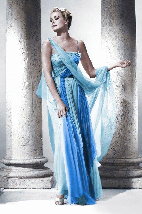 Grace Kelly in gorgeous gown, Greek Goddess | Dream closet ...
