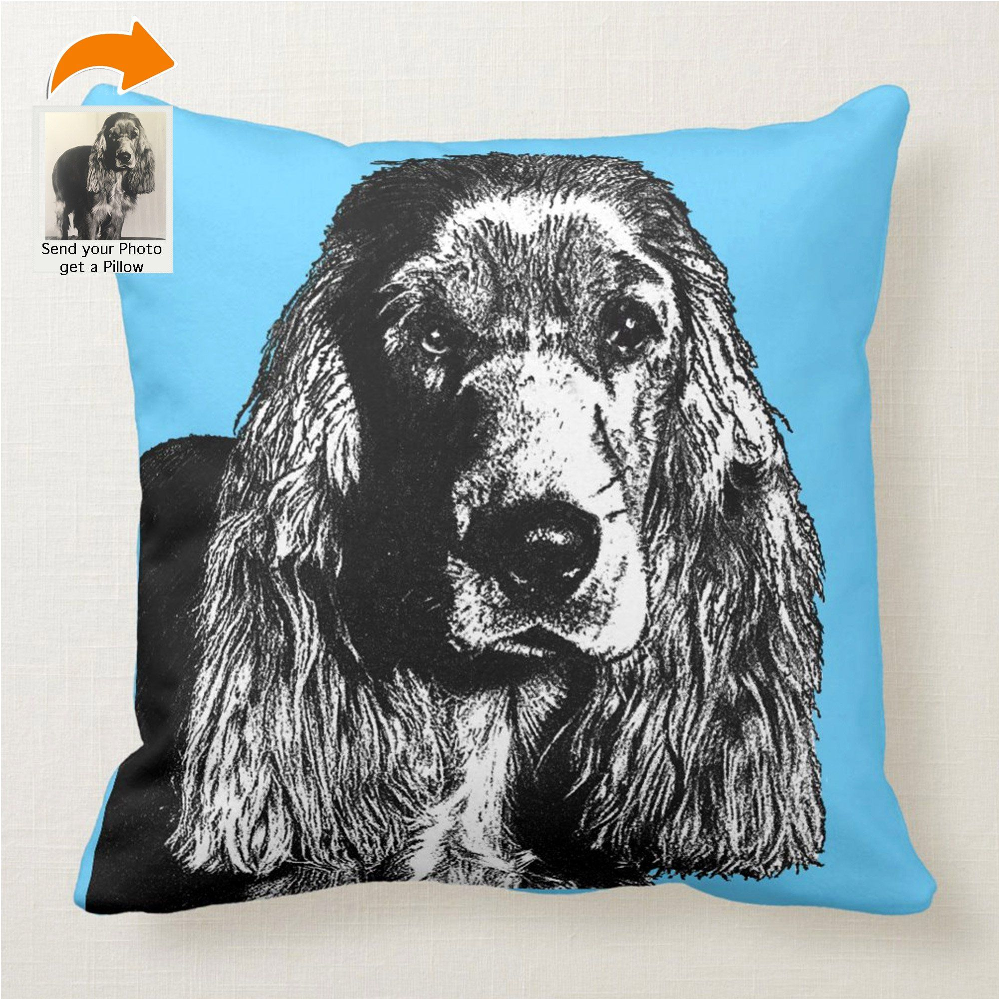 Order Form for Customizable Pet Pillows