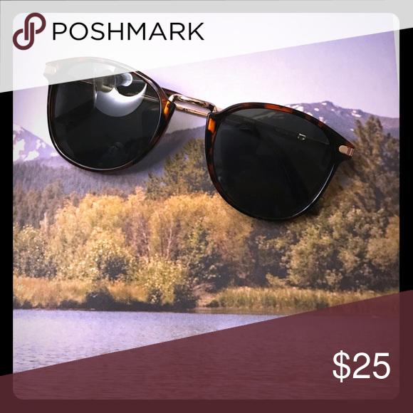 06ad3d673808 AJ Morgan 'castro' sunglasses Like-New AJ Morgan round 'Castro' wire-framed  tortoise sunglasses from Asos. Also sold at Nordstrom🌻😎 smoke free home.