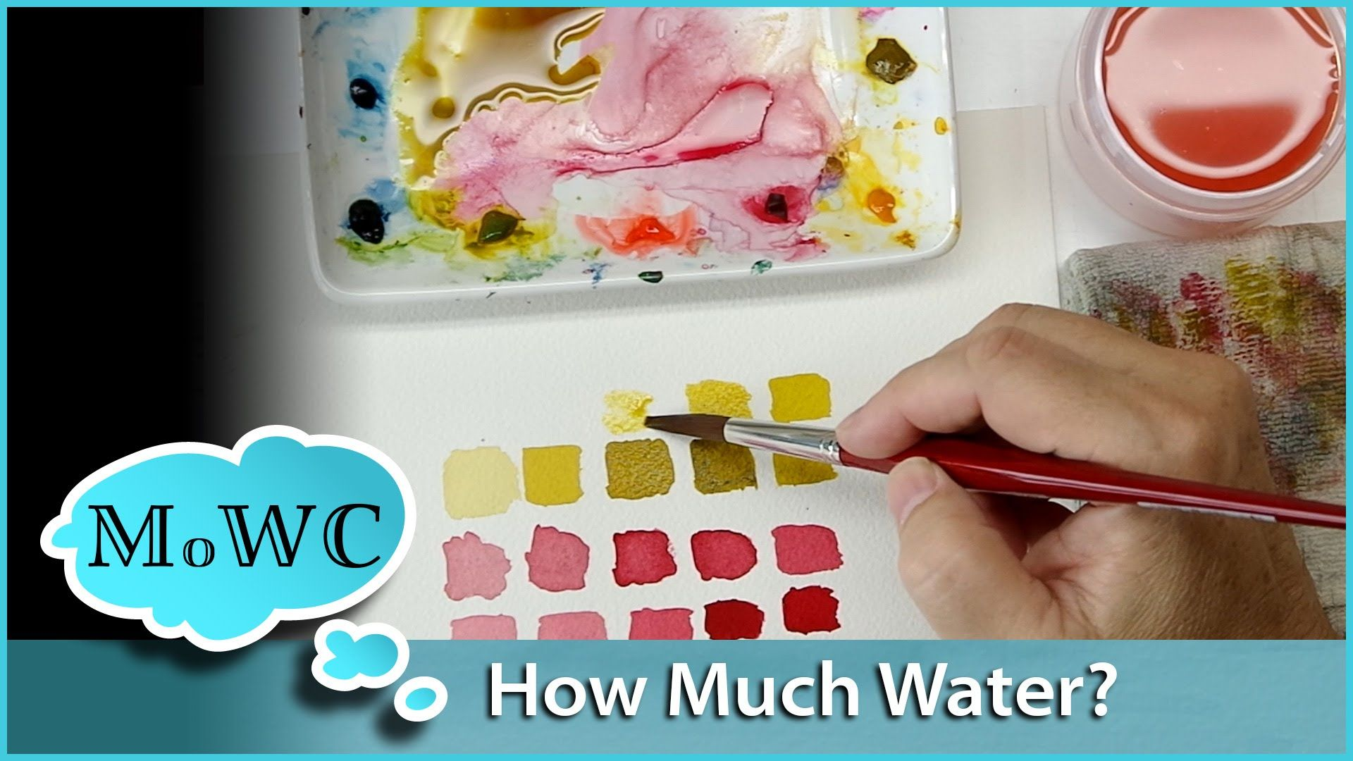 Controlling Water Pigment Ratio In Watercolor Watercolor
