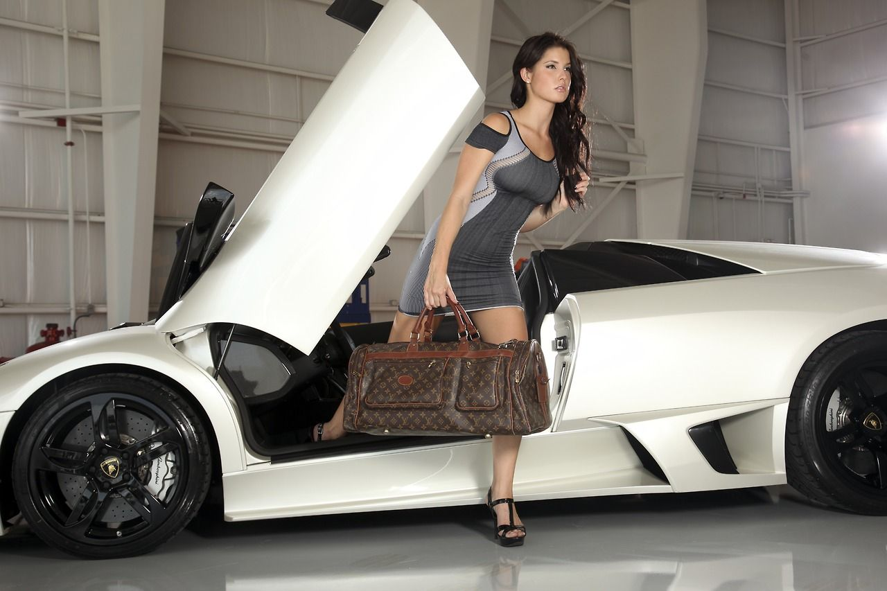 lamborghini girl cars and girls pinterest cars lamborghini and girl car. Black Bedroom Furniture Sets. Home Design Ideas