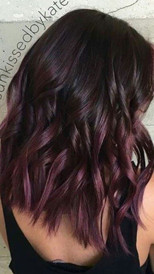 This is exactly what I want | Burgundy hair,